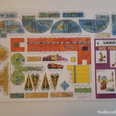 Coleccionismo Recortables: RECORTES MODULARES LÍDER AÑOS 70 CASTILLO/REFUGIO/FUERTE/BASE ESPACIAL. Lote 207648041