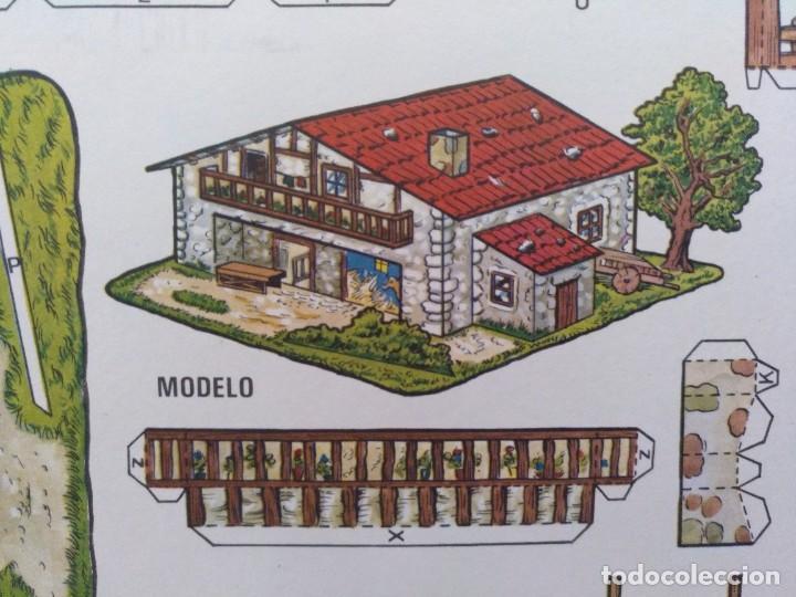 Coleccionismo Recortables: CONSTRUCCIONES RECORTABLES BOGA CASERIO VASCO - Foto 2 - 208067901