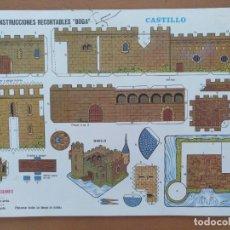 Coleccionismo Recortables: CONSTRUCCIONES RECORTABLES BOGA CASTILLO Nº 526. Lote 208068002