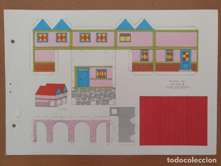 CONSTRUCCIONES RECORTABLES BABY SERIE CASAS 8 EDITORIAL ROMA BARCELONA (Coleccionismo - Recortables - Construcciones)