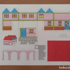 Coleccionismo Recortables: CONSTRUCCIONES RECORTABLES BABY SERIE CASAS 8 EDITORIAL ROMA BARCELONA. Lote 208068238