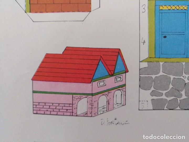 Coleccionismo Recortables: CONSTRUCCIONES RECORTABLES BABY SERIE CASAS 8 EDITORIAL ROMA BARCELONA - Foto 2 - 208068238