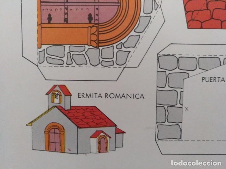 Coleccionismo Recortables: CONSTRUCCIONES RECORTABLES BABY SERIE CASAS 7 ERMITA EDITORIAL ROMA BARCELONA 1974 - Foto 2 - 208068501