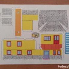 Coleccionismo Recortables: CONSTRUCCIONES RECORTABLES BABY SERIE CASAS 5 EDITORIAL ROMA BARCELONA. Lote 208068613