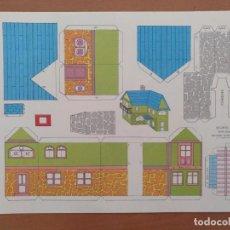 Coleccionismo Recortables: CONSTRUCCIONES RECORTABLES BABY SERIE CASAS 4 EDITORIAL ROMA BARCELONA. Lote 208068731