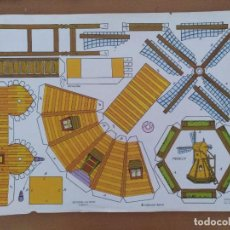 Coleccionismo Recortables: CONSTRUCCION RECORTES VICTORIA CASAS 7 MOLINO EDITORIAL ROMA BARCELONA 1977. Lote 208070137