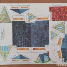 Coleccionismo Recortables: RECORTES KIKI-LOLO SERIE CASAS EDITORIAL ROMA BARCELONA 1970 DIBUJO C.BUSQUETS. Lote 208070756
