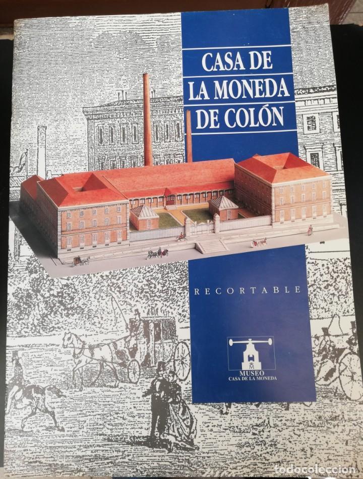 RECORTABLE LA CASA DE LA MONEDA (Coleccionismo - Recortables - Construcciones)