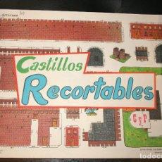 Coleccionismo Recortables: BLOG DE 50 LAMINAS DE RECORTABLES DE CONSTRUCCIONES, EDITORIAL CULTURA Y PROGRESO. Lote 209019048