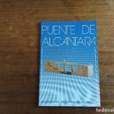 Colecionismo Recortáveis: PUENTE DE ALCANTARA MONUMENTOS RECORTABLES SALVATELLA. Lote 209121971
