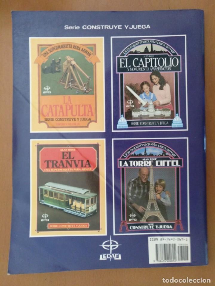 Coleccionismo Recortables: RECORTABLE SUPER MAQUETA LA TORRE EIFFEL EDITORIAL EDAF 1981 - Foto 2 - 209594173