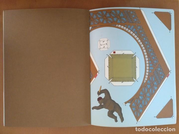 Coleccionismo Recortables: RECORTABLE SUPER MAQUETA LA TORRE EIFFEL EDITORIAL EDAF 1981 - Foto 4 - 209594173