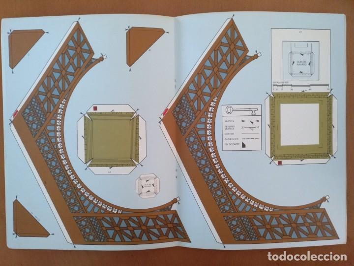 Coleccionismo Recortables: RECORTABLE SUPER MAQUETA LA TORRE EIFFEL EDITORIAL EDAF 1981 - Foto 5 - 209594173