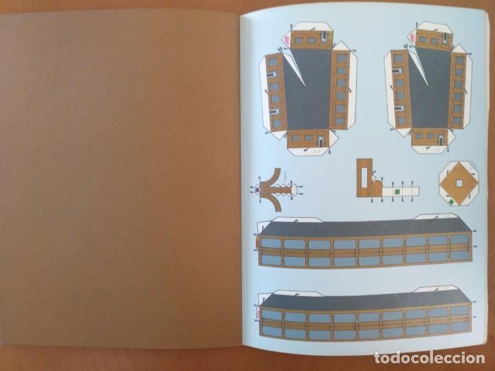 Coleccionismo Recortables: RECORTABLE SUPER MAQUETA LA TORRE EIFFEL EDITORIAL EDAF 1981 - Foto 6 - 209594173
