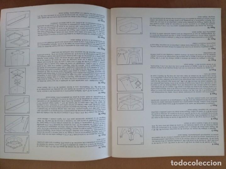 Coleccionismo Recortables: RECORTABLE SUPER MAQUETA LA TORRE EIFFEL EDITORIAL EDAF 1981 - Foto 8 - 209594173