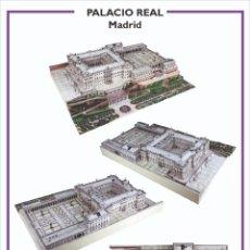 Colecionismo Recortáveis: MAQUETA RECORTABLE DEL PALACIO REAL DE MADRID. Lote 210157356