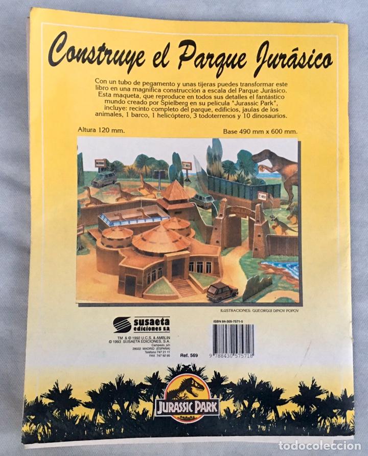 Coleccionismo Recortables: Construye el Parque Jurásico antiguo - Foto 2 - 211484742
