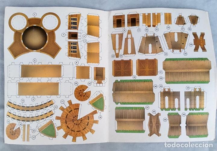 Coleccionismo Recortables: Construye el Parque Jurásico antiguo - Foto 4 - 211484742