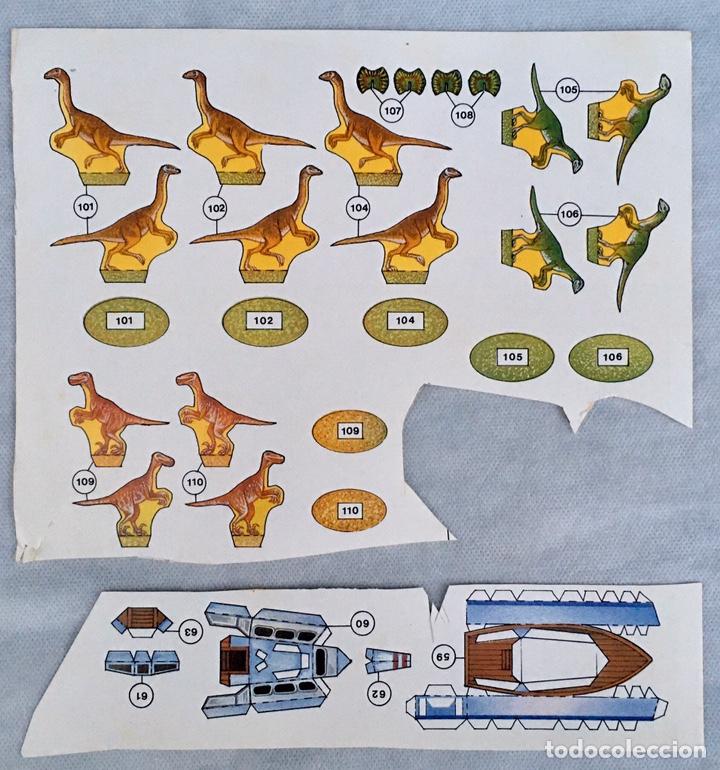 Coleccionismo Recortables: Construye el Parque Jurásico antiguo - Foto 6 - 211484742