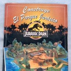 Coleccionismo Recortables: CONSTRUYE EL PARQUE JURÁSICO ANTIGUO. Lote 211484742