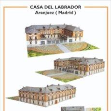 """Coleccionismo Recortables: MAQUETA RECORTABLE """" CASA DEL LABRADOR """" ( ARANJUEZ - MADRID ). Lote 257557540"""