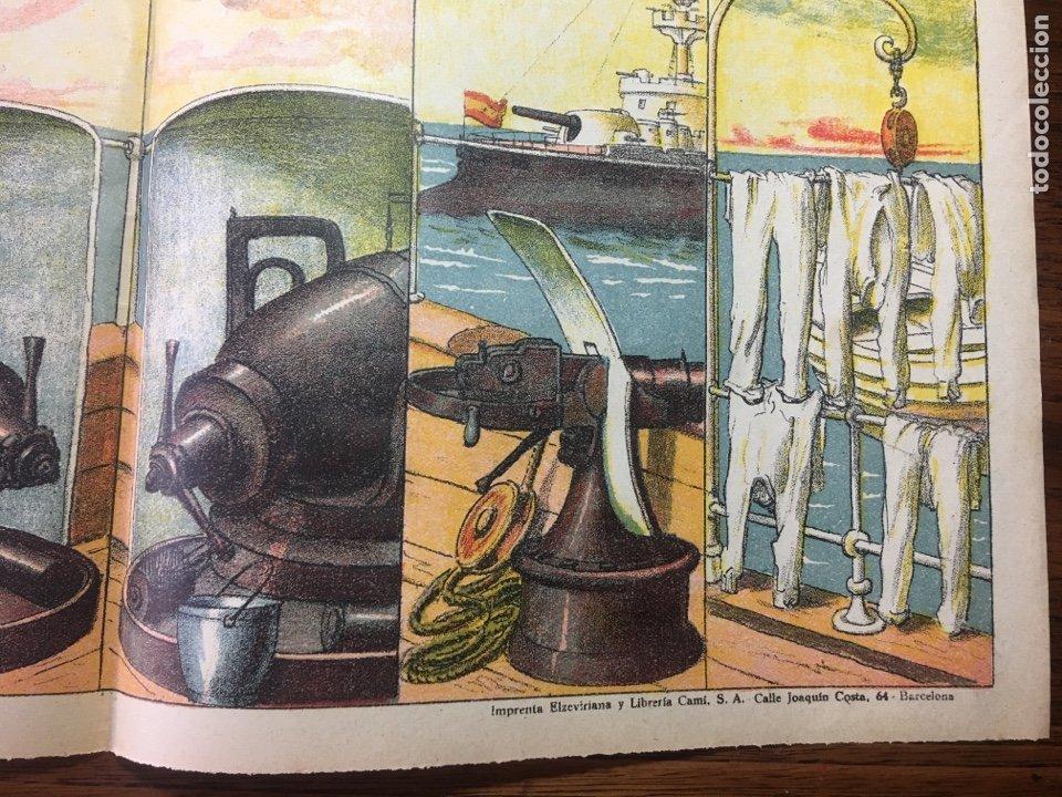 Coleccionismo Recortables: DECORACIONES DE TEATRO BASTIDORES DE BUQUE DE GUERRA N 507 PALUZIE - Foto 3 - 214653267