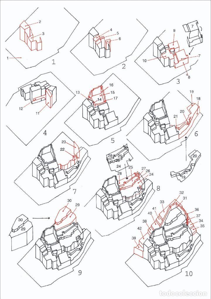 Coleccionismo Recortables: MAQUETA RECORTABLE DE LA CASA DE DALÍ EN PORT LLIGAT ( Cadaqués-Girona) - Foto 2 - 261640300