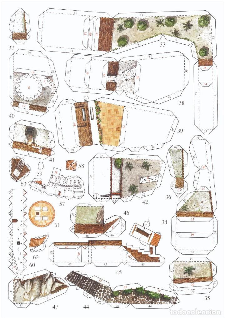 Coleccionismo Recortables: MAQUETA RECORTABLE DE LA CASA DE DALÍ EN PORT LLIGAT ( Cadaqués-Girona) - Foto 3 - 261640300