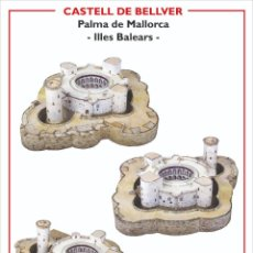 Coleccionismo Recortables: MAQUETA RECORTABLE DEL CASTELL DE BELLVER ( PALMA DE MALLORCA). Lote 231418210