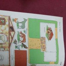 Collectionnisme Images à Découper: RECORTABLE LA TUERA Nº 10.. LA GRANJA. Lote 217030748