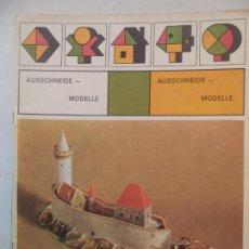 Coleccionismo Recortables: RECORTABLE RECORTABLE CHECO PAR CONSTRUIR DIE BURG KOKORIN 1979 ALBATROS. Lote 217844321