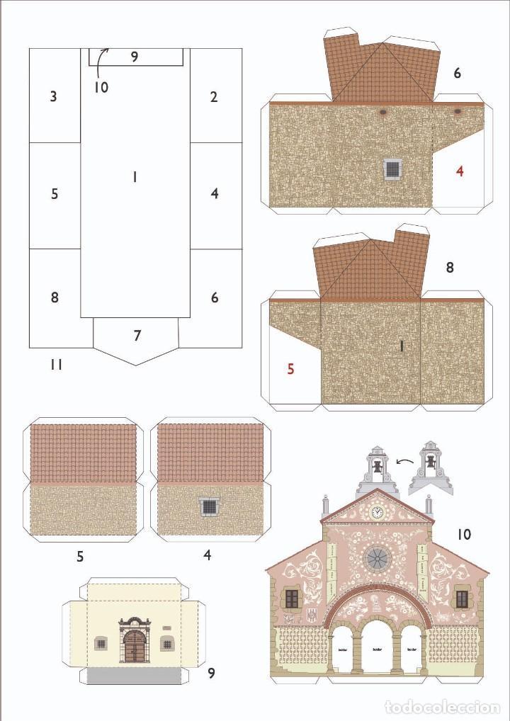 Coleccionismo Recortables: MAQUETA RECORTABLE DEL SANTUARIO DE LORETO (ULLDEMOLINS-TARRAGONA) - Foto 2 - 228246021
