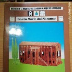 Coleccionismo Recortables: 3 RECORTABLES: SAN MIGUEL DE LA ESCALADA / SANTA MARÍA DEL NARANCO / SAN PEDRO DE LA NAVA. Lote 218898461