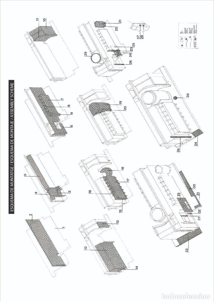 Coleccionismo Recortables: MAQUETA RECORTABLE DEL MUSEO DE ARTE CONTEMPORANEO-MACBA ( BARCELONA) - Foto 2 - 252699020