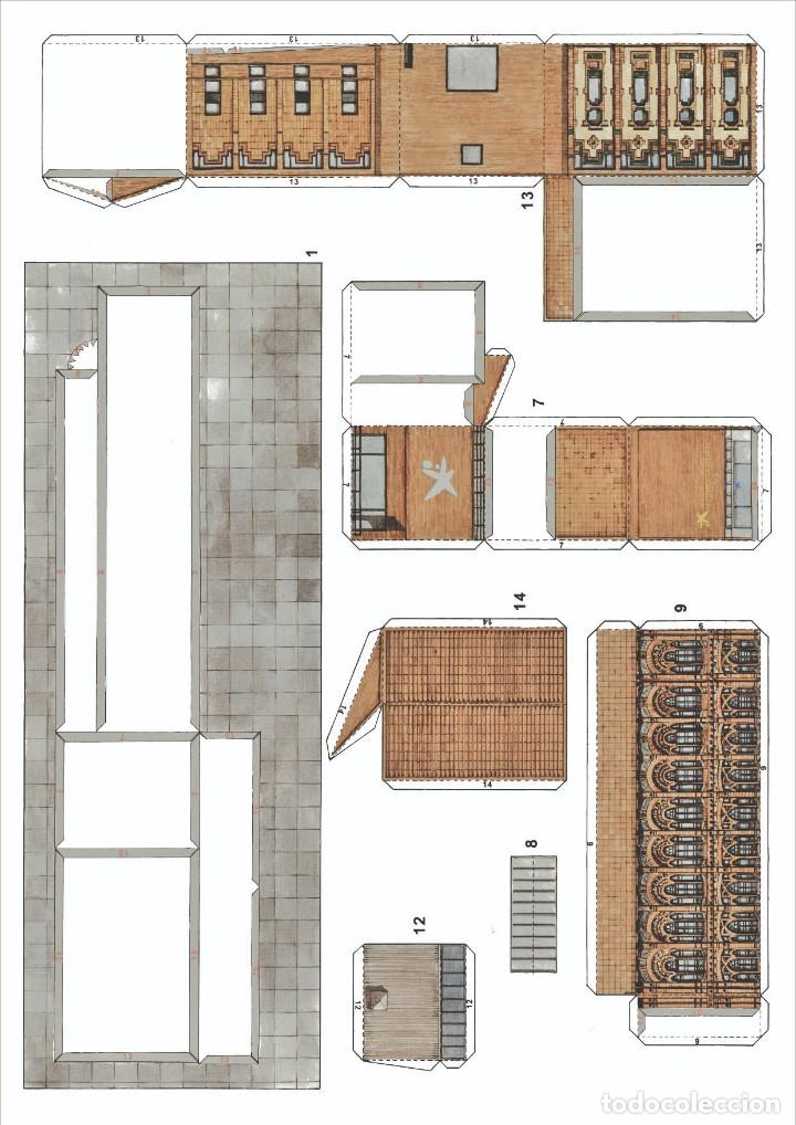 Coleccionismo Recortables: MAQUETA RECORTABLE DEL MUSEO DE LA CIENCIA ( BARCELONA) - Foto 2 - 259231300