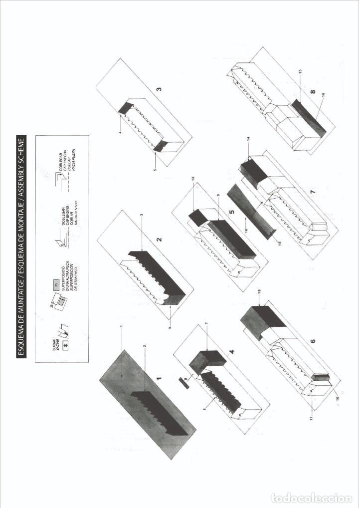 Coleccionismo Recortables: MAQUETA RECORTABLE DEL MUSEO DE LA CIENCIA ( BARCELONA) - Foto 3 - 259231300
