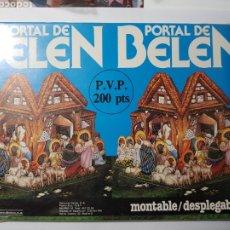 Coleccionismo Recortables: PORTAL DE BELEN MONTABLE DESPLEGABLE 3D . EDITORIAL DEANA AÑOS 70. Lote 221441161