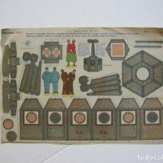 Coleccionismo Recortables: VAGONETA AEREA-RECORTABLES BABY-RECORTABLE ANTIGUO-VER FOTOS-(V-22.372). Lote 223637020