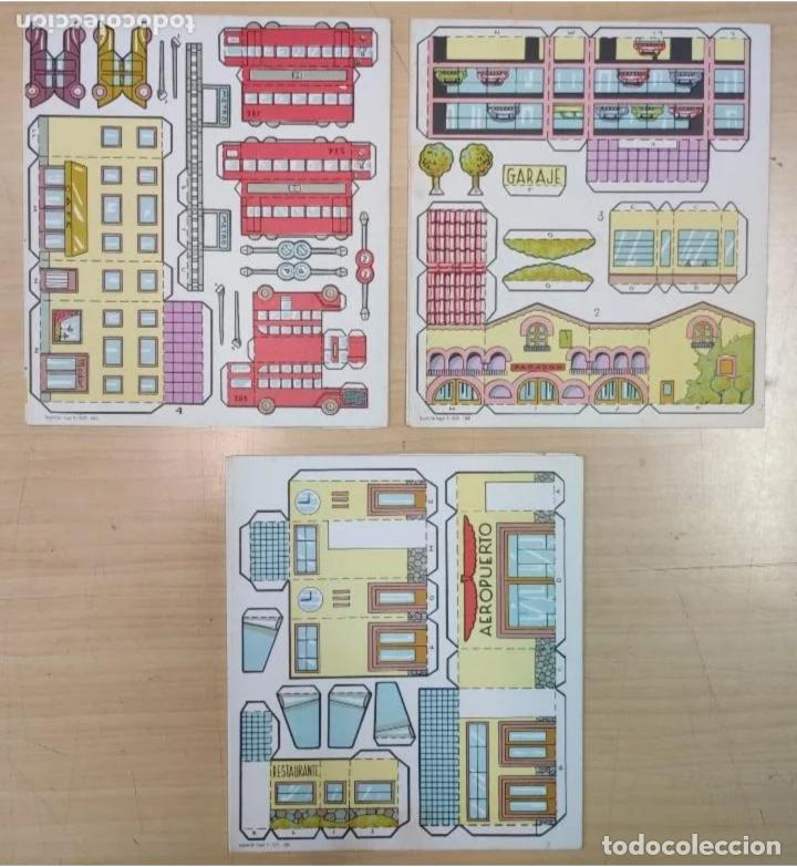 Coleccionismo Recortables: 3 LIBROS RECORTABLES AÑOS 60 - Foto 2 - 223996377
