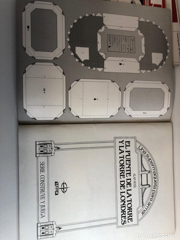 Coleccionismo Recortables: Recortarle el puente De la Torre y la torre de Londres LEDAF años 70 - Foto 2 - 224455392