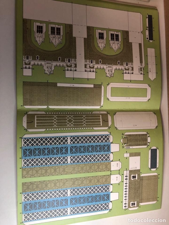 Coleccionismo Recortables: Recortarle el puente De la Torre y la torre de Londres LEDAF años 70 - Foto 3 - 224455392