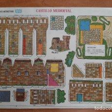 Collectionnisme Images à Découper: MANUALIDADES INSTRUCTIVAS , ORBE : CASTILLO MEDIEVAL Nº 8. Lote 226412505