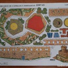 Collectionnisme Images à Découper: EDIVAS RECORTABLE DE CASTILLOS Y FORTALEZAS - Nº 3. Lote 242484425