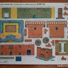 Collectionnisme Images à Découper: EDIVAS RECORTABLE DE CASTILLOS Y FORTALEZAS - Nº 7. Lote 242485350