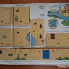 Collectionnisme Images à Découper: RECORTABLE BEASCOA - SERIE CASTILLO Nº 1. Lote 226754330
