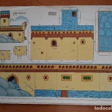 Collectionnisme Images à Découper: RECORTABLE BEASCOA - SERIE CASTILLO Nº 6. Lote 226754550