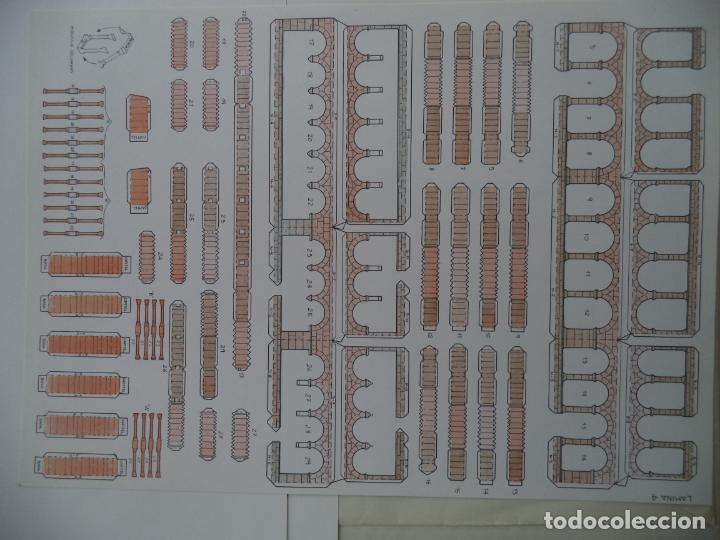 Coleccionismo Recortables: SANTA MARIA DE EUNATE C.A.MUNICIPAL PAMPLONASOBRE+5 LAMINAS DE 42X30 CM - Foto 6 - 227151215