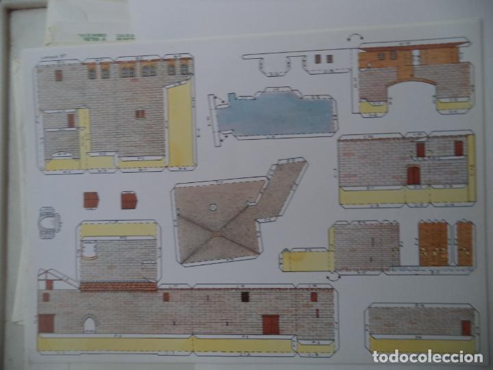 Coleccionismo Recortables: EL MOLINO DE CAPARROSO CAMUNICIPAL PAMPLONA SOBRE +9 LAMINAS DE 43X30 CM - Foto 5 - 227154525