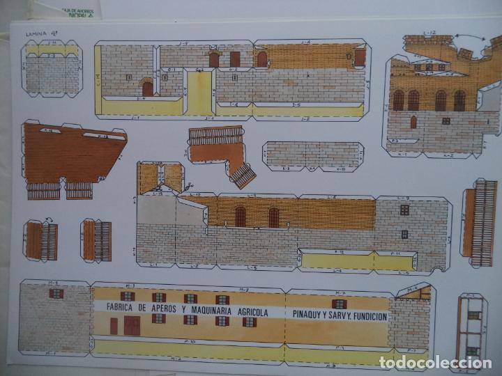 Coleccionismo Recortables: EL MOLINO DE CAPARROSO CAMUNICIPAL PAMPLONA SOBRE +9 LAMINAS DE 43X30 CM - Foto 6 - 227154525