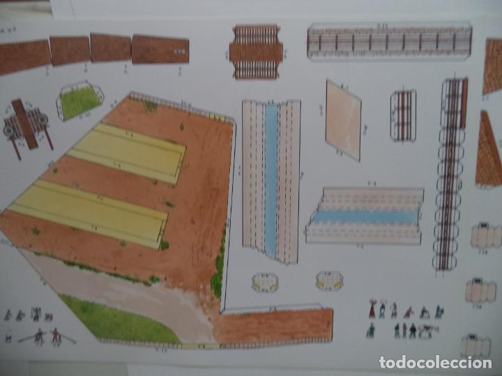 Coleccionismo Recortables: EL MOLINO DE CAPARROSO CAMUNICIPAL PAMPLONA SOBRE +9 LAMINAS DE 43X30 CM - Foto 9 - 227154525
